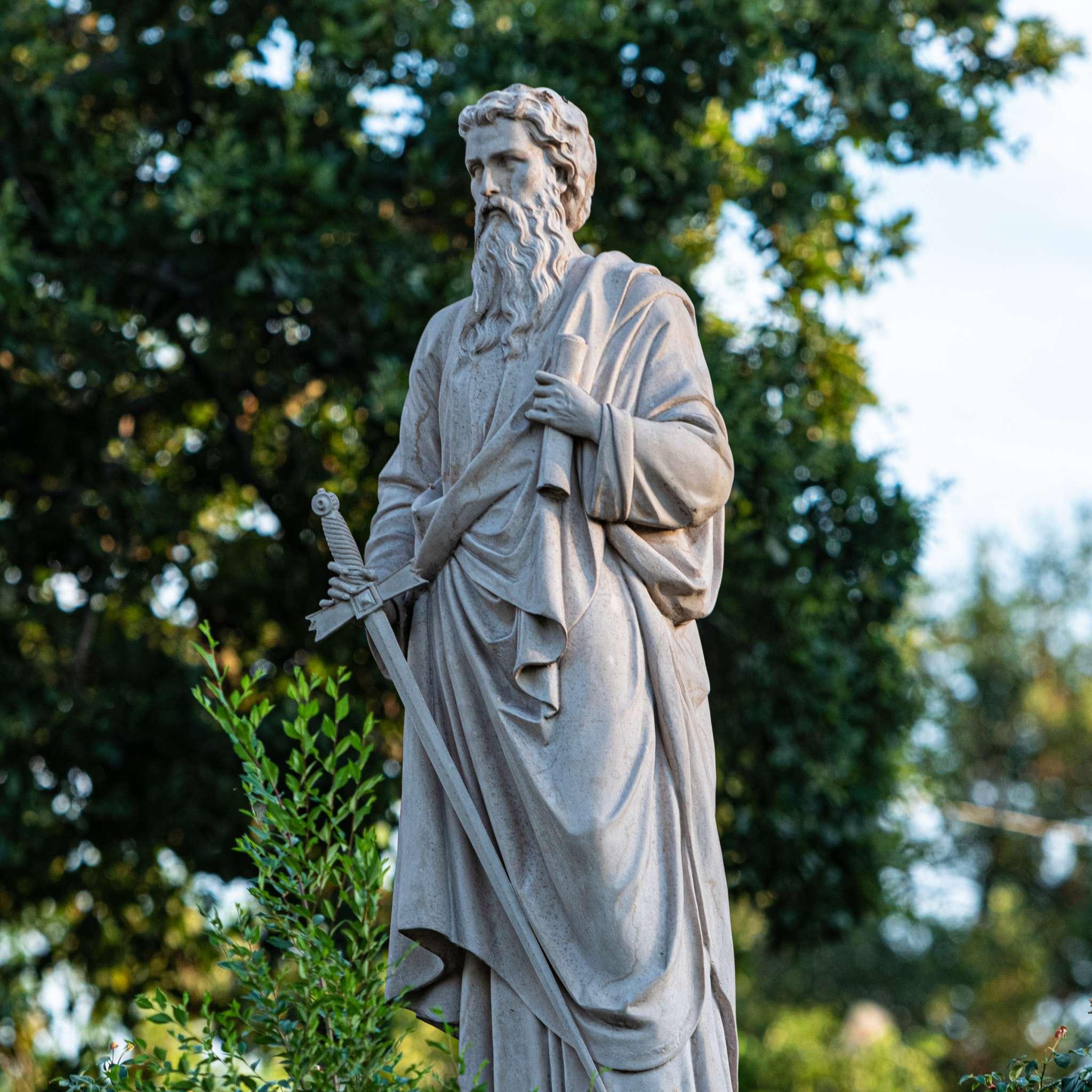 Eufaula, Oklahoma Historic Church Statue