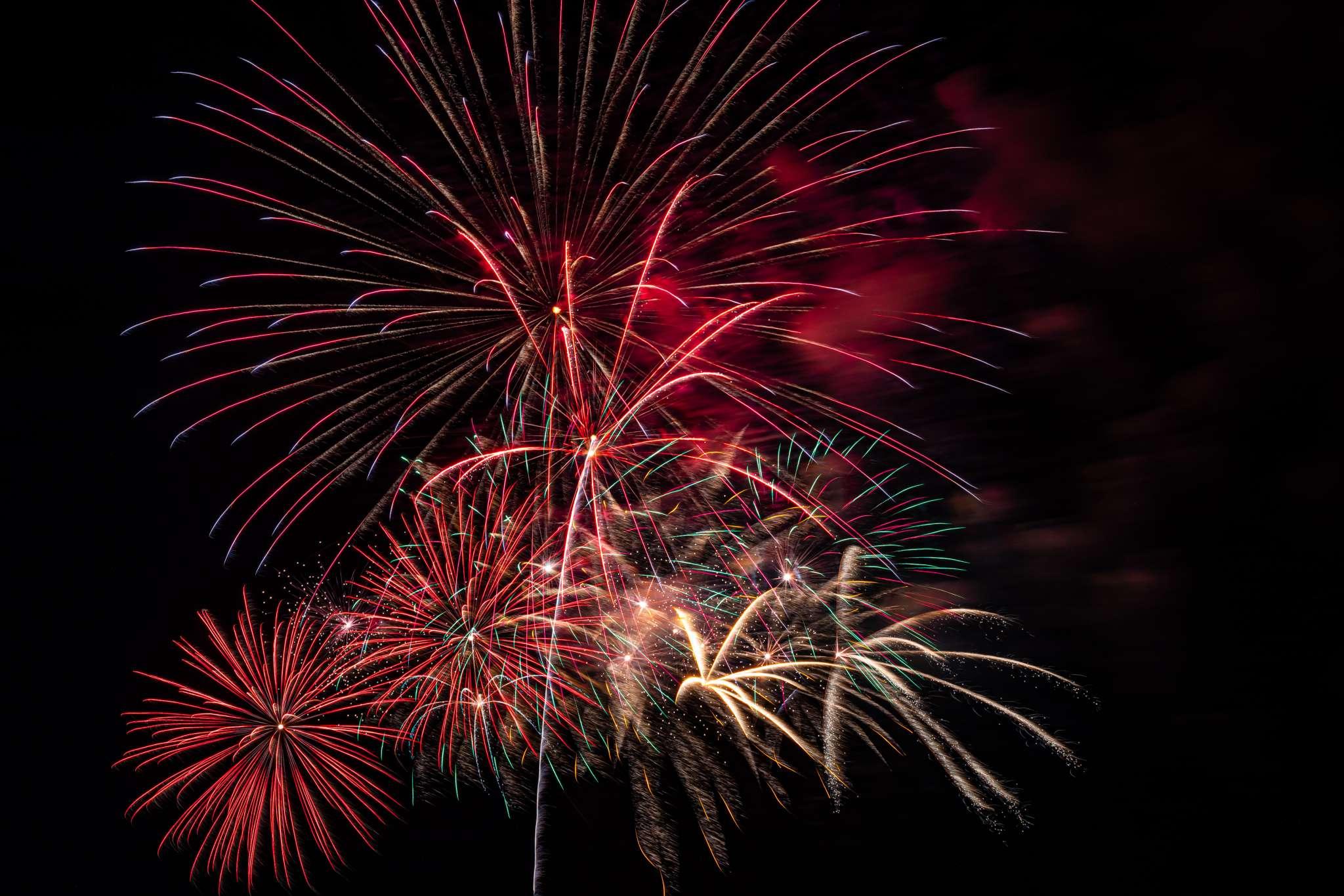 Eufaula, OK Lake Fireworks Show 4th of July Celebration