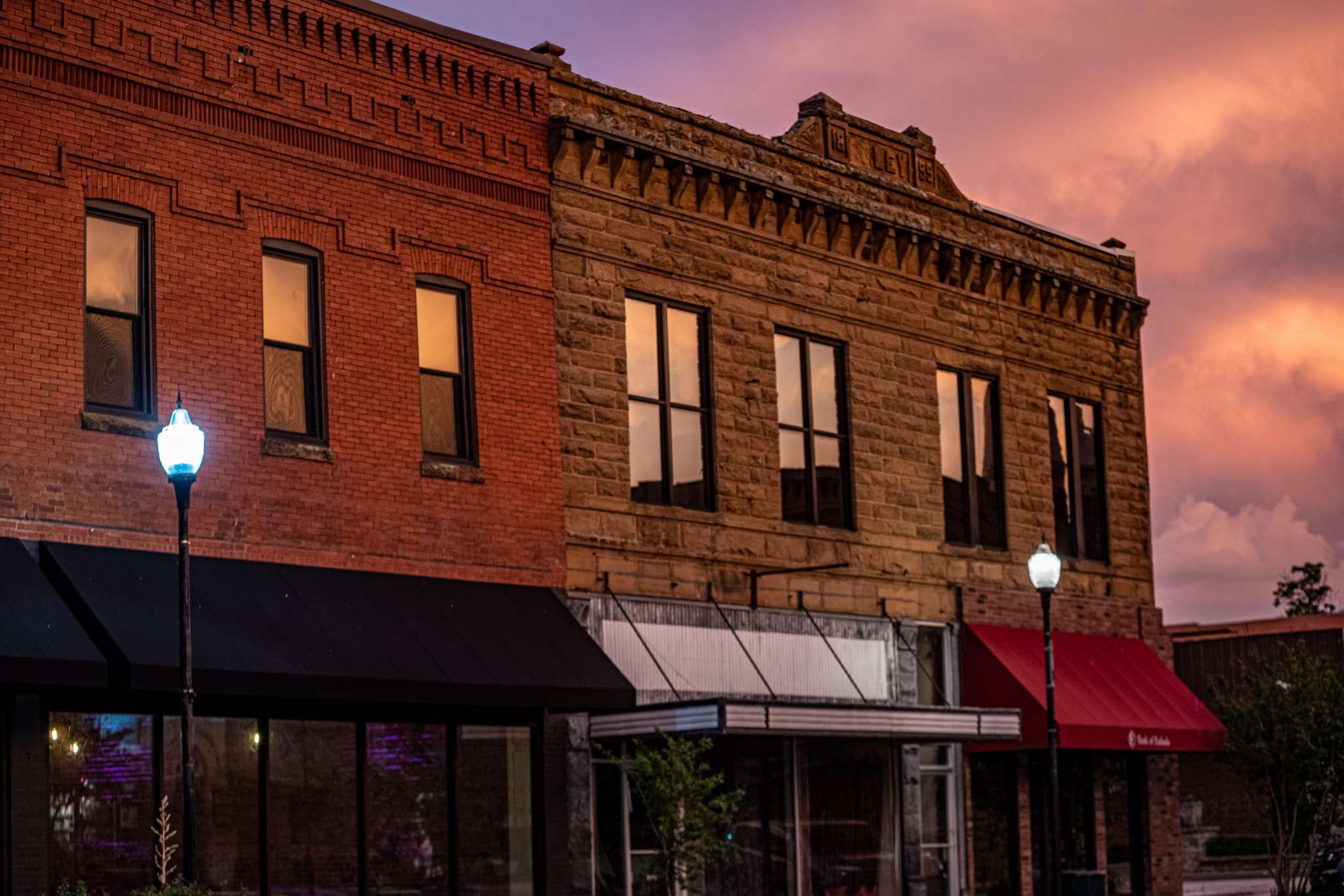Historic downtown Eufaula, Oklahoma