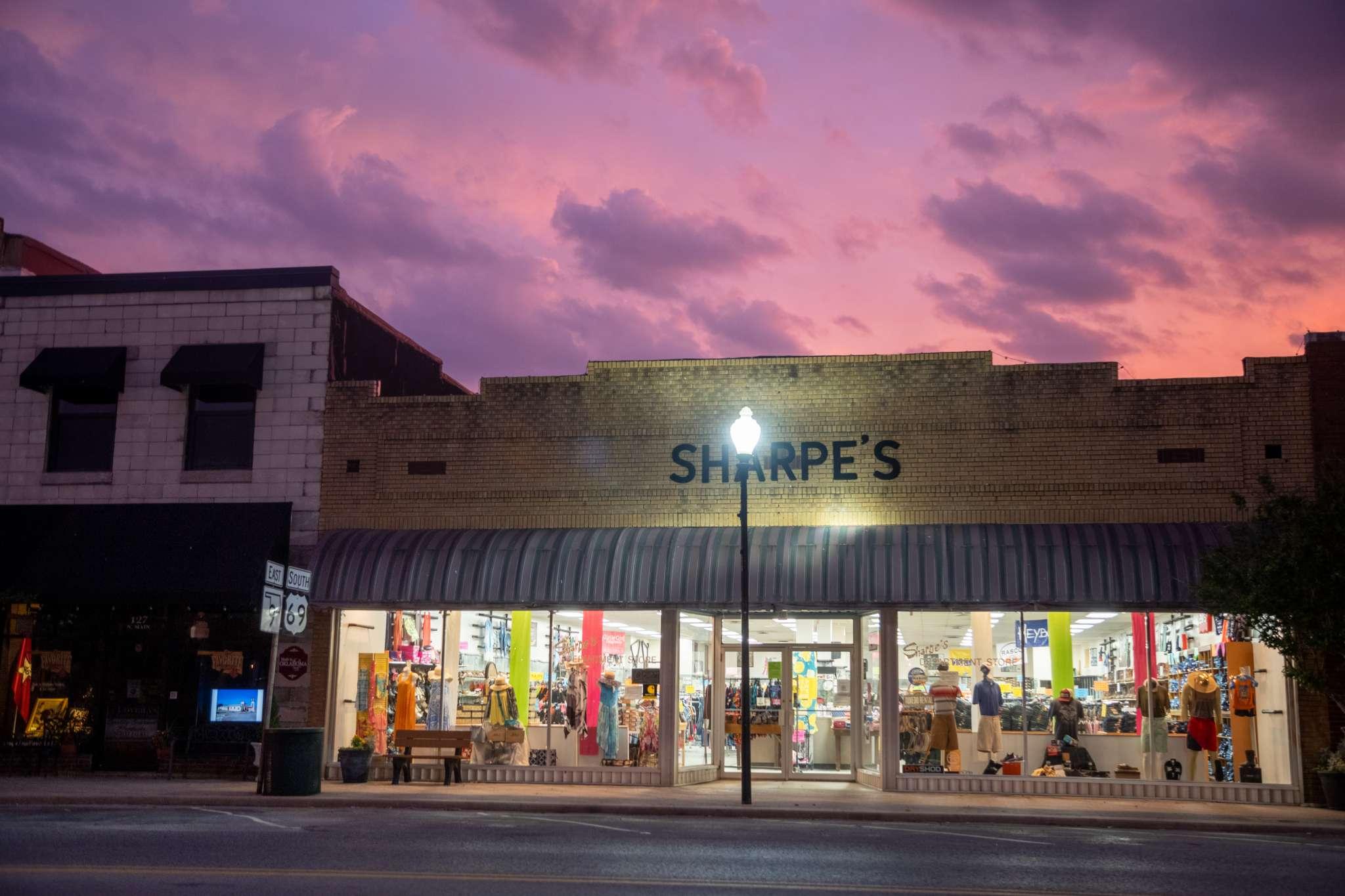 Eufaula, Oklahoma Historic Downtown Shops