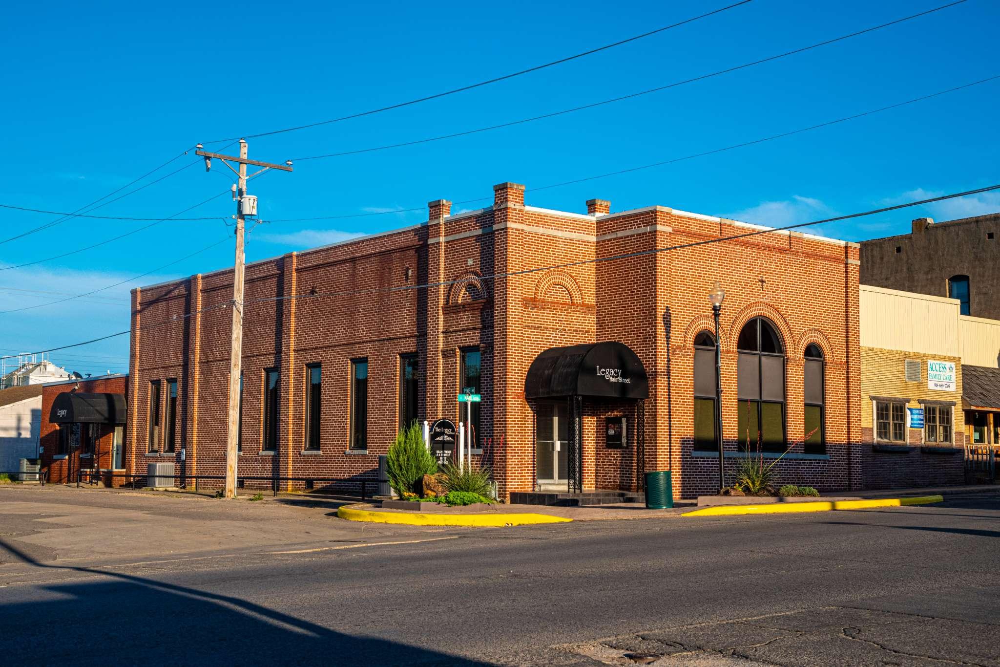 Eufaula, Oklahoma Historic Downtown Architecture Entertainment Venue