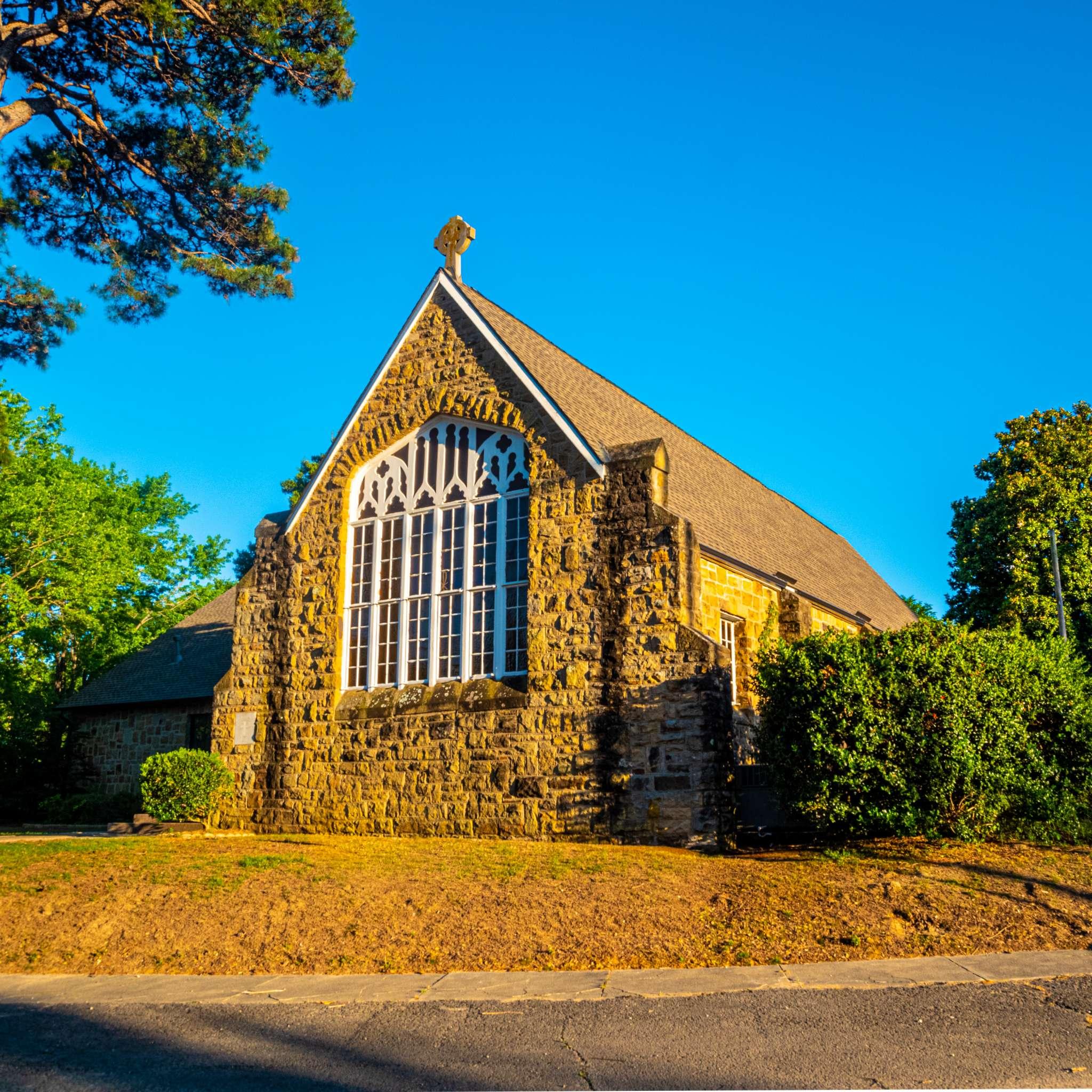 Eufaula, Oklahoma Historic Church