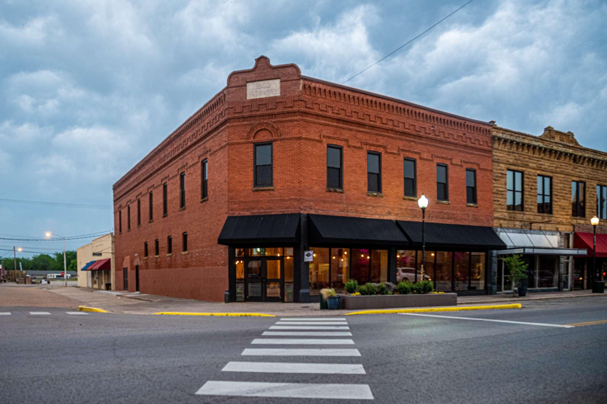 Eufaula, Oklahoma Historic Downtown Architecture Restaurant